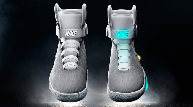 Holy Smoke! Nike Announces Real Back to the Future II's Self-lacing Nike Mag!