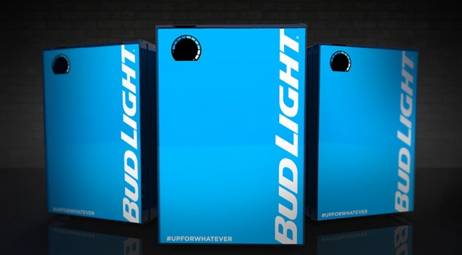 The Bud Light Bud-E Fridge