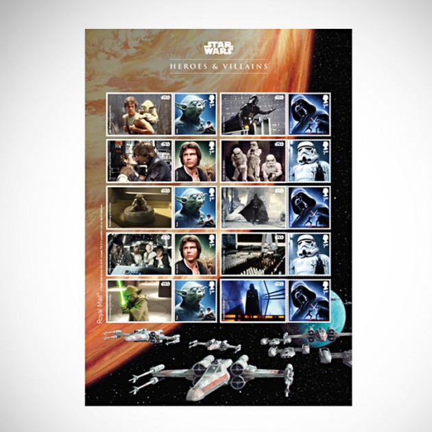 The Star Wars Stamp Collection 2015