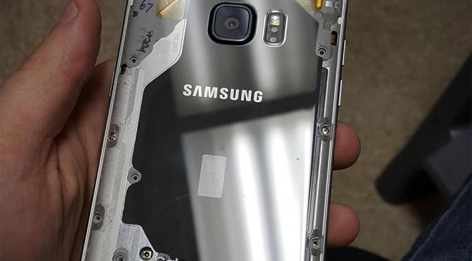 Transparent Samsung Galaxy Note 5 by Skarface08