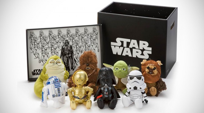 The Force of Cuteness is Strong in These Miniature Star Wars Plush Toys