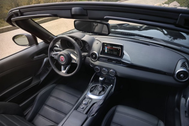 2017 Fiat 124 Spider Roadster