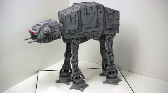 Would You Bear To Take A Slice Of This Highly Realistic AT-AT Cake?