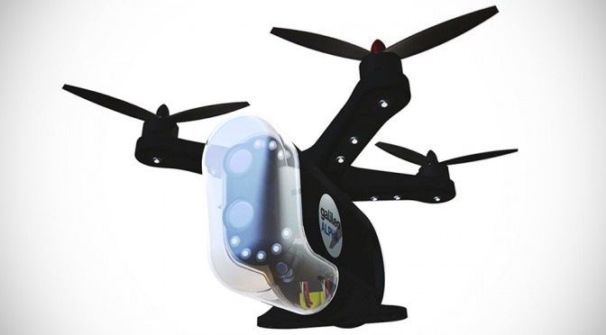 Alpha Smart Security Drone