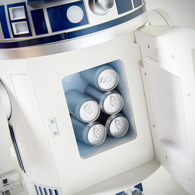 Aqua R2-D2 Moving Refrigerator