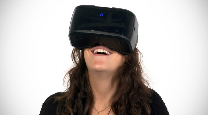AuraVisor VR Head Mounted Computer