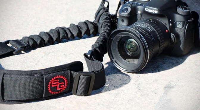 BOOMR Camera Strap Has Shock Absorbers That Will Help To Relieve The Load On Your Neck