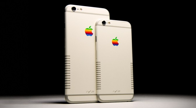 Colorware Gave iPhone 6s A Very Retrolicious Makeover