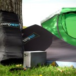 CompREST Is A Camping Bed That Can Charge Your Phone Too, Well, Kind Of