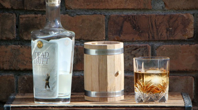 how to make a mini whiskey barrel