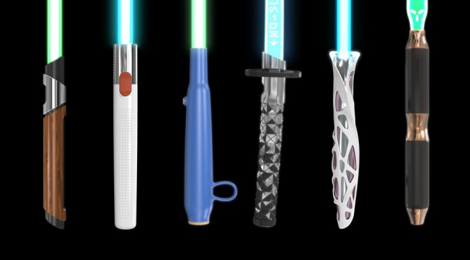 What If Lightsabers Were Designed By Legendary Designers
