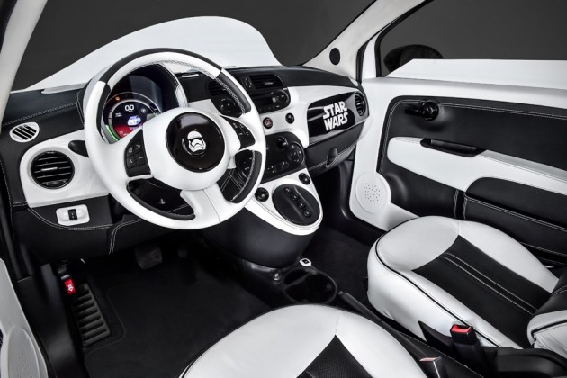 "Fiat ""Star Wars: The Force Awakens"" Stormtrooper 500e"
