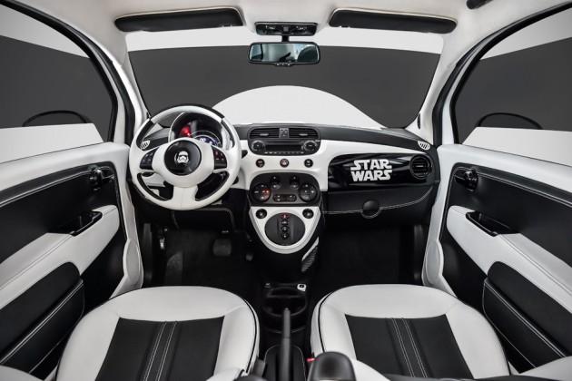 "Fiat ""Star Wars: The Force Awakens"" Stormtrooper 500e"