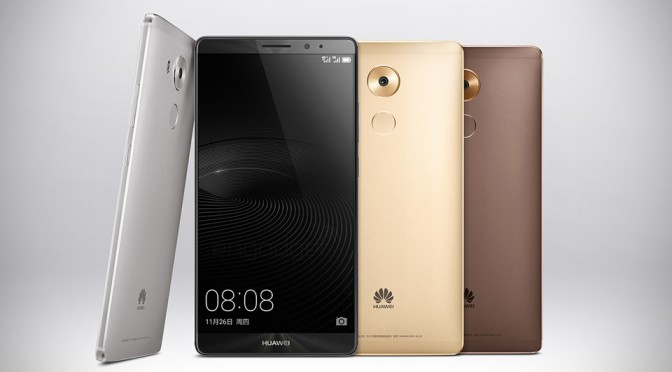 Huawei Big-Ass 6-inch Mate 8 Android Phone Hits Up China Market