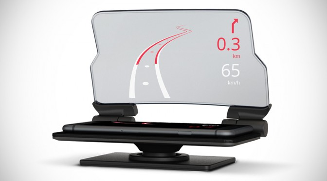 Hudway Glass Leverages On Your Smartphone to Add Head-up Display to Your Vehicle