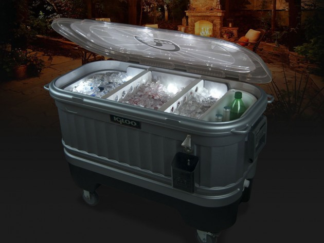 Igloo Party Bar Cooler Powered by Liddup