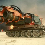 This Insane Tank-body Fire Truck Uses MiG-21 Jet Engines To Fight Fire