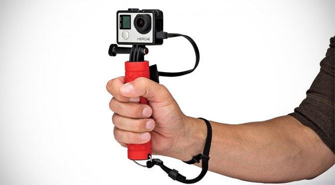 Joby Action Battery Grip Gives Your Action Cam Up to 3 Times More Juice