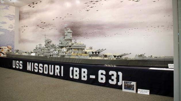 LEGO USS Missouri WWII Battleship