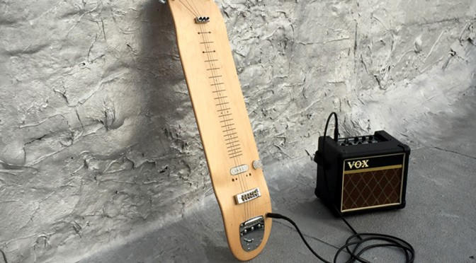 Skateboard Deck Electric Guitar Will Make You Shred The Axe In An Unconventional Way