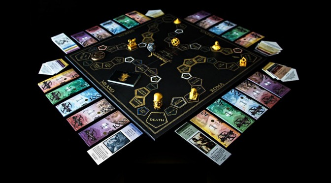 Leonardo da Vinci Board Game Reimagined, Lets You Juggle Between Art and Death