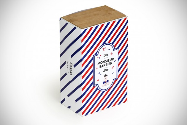Monsieur Barbier Box Shaving Product Organizer
