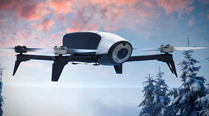 Parrot Second-Gen Bebop Imaging Drone Is Faster And Flies Longer