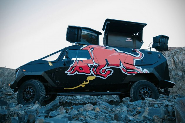 "Red Bull ""Armored"" Event Vehicle"