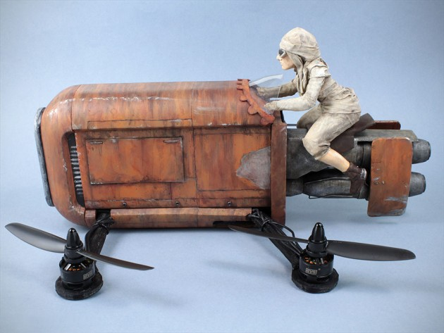 Rey's-Speeder-Quadcopter-by-The-Model-Maker-image-6
