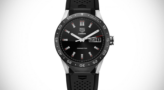 TAG Heuer's First Smartwatch is Carrera-inspired, Cost $1,500 a Pop