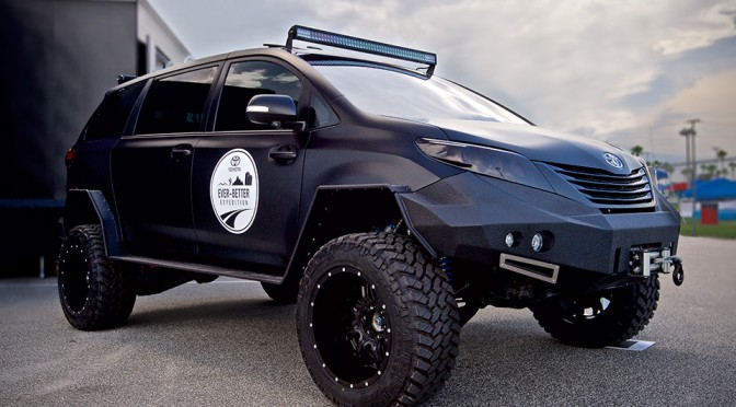 Post-apocalyptic-looking Toyota Ultimate Utility Vehicle is the Lovechild of Tacoma and Sienna