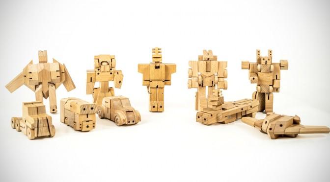 Изделия трансформеры из дерева