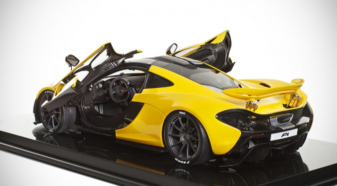 1/8 Scale McLaren PI Model by Amalgam Fine Model Cars