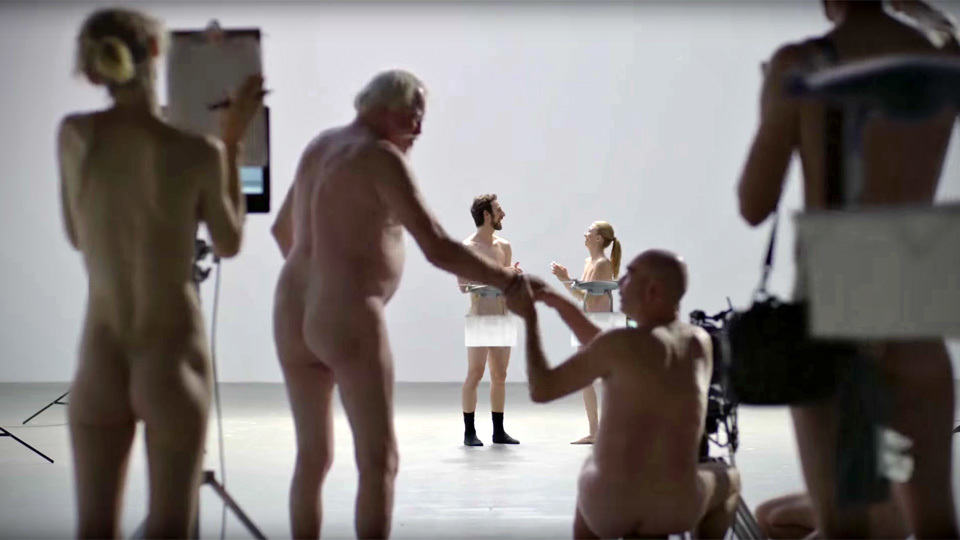 Japanese nude ad