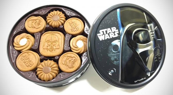 Bourbon Star Wars Cookies