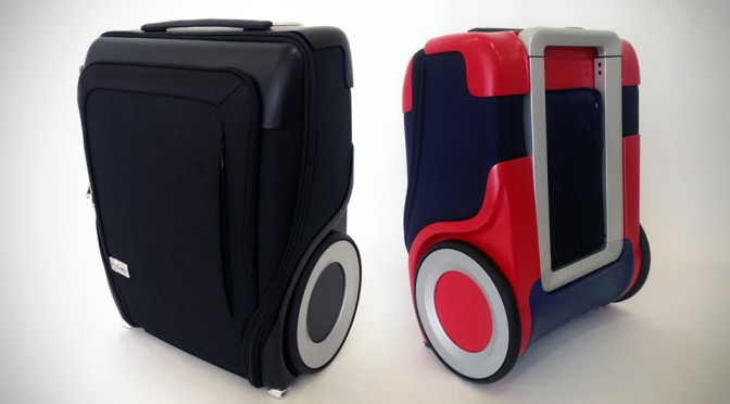 G-RO: Carry-on Luggage Goes All-Terrain With Enormous Wheels