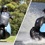 Gibbs Amphibians' Biski Is A Motorcycle That Is Also A Jet Ski