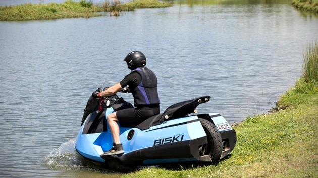 Gibbs Amphibians Biski Amphibious Motorcycle