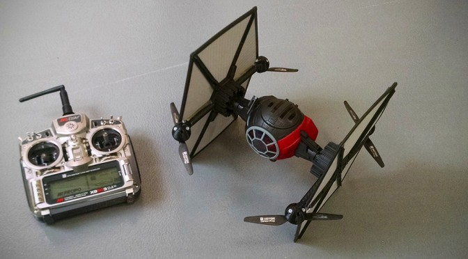 Toy Hacker Turned The Force Awakens TIE Fighter Into A Flying Drone