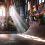 Abandoned Church Turned Into A Beautiful Art-infused Skatepark