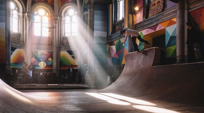 "KAOS Temple ""Skate Church"" by Okuda"