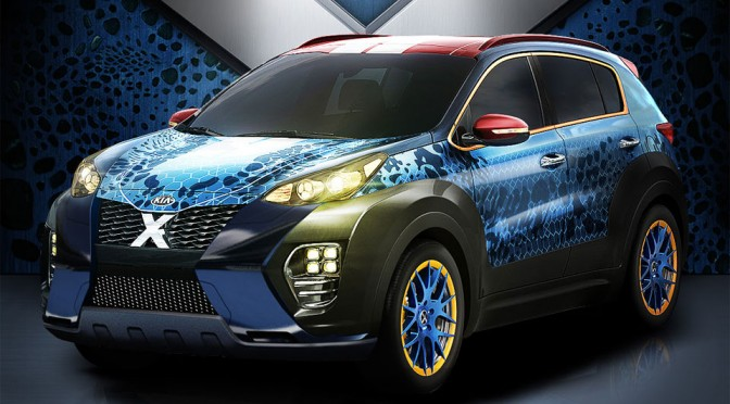 KIA's X-Men-inspired Sportage Will Help Rafael Nadal Take On Apocalypse