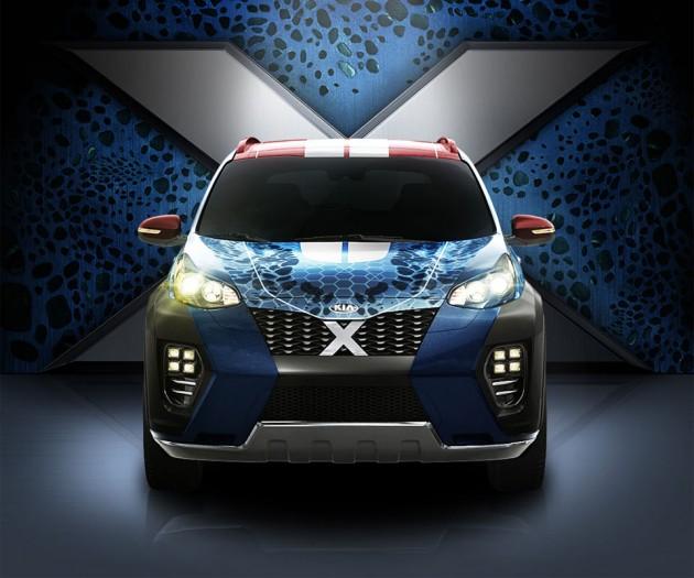 KIA 'X-Men' Sportage CUV