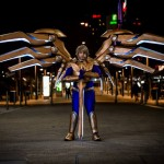 This League Of Legends Cosplay Suit Has App-controlled Motorized Wings