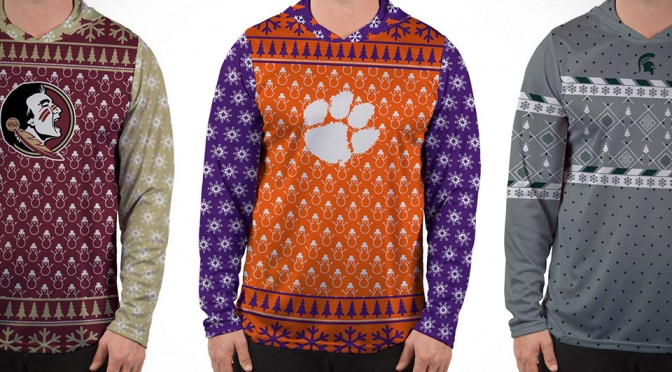 Ugly Christmas Sweaters Made Less Ugly By Your Favorite Sport Team
