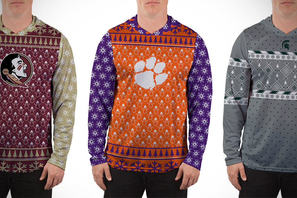 Ugly Christmas Sweaters Made Less Ugly By Your Favorite Sport Team ...