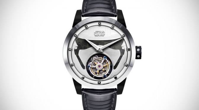 HK Tourbillon Specialist Teamed Up With Disney For Captain Phasma Watch