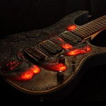 Molten Lava Diabolical Guitar Has Glowing Lava That Look So Hot And Cool At The Same Time
