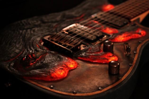 Molten Diabolic Guitar by Hutchinson Guitar Concepts