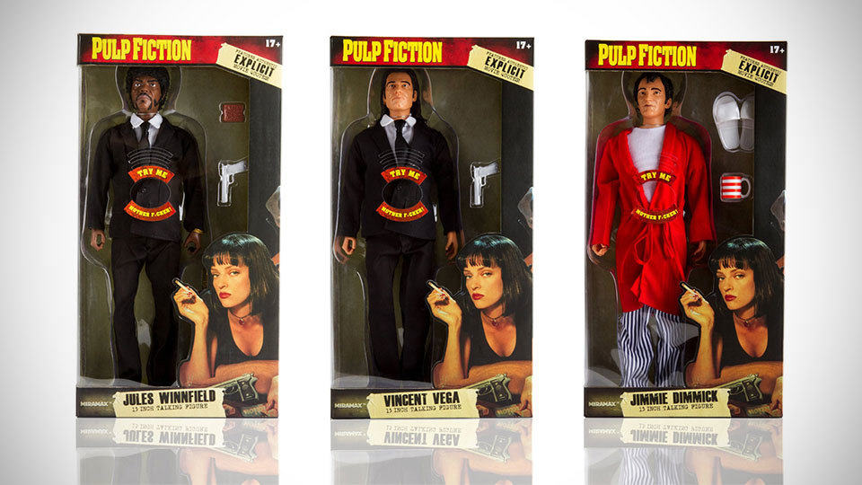Pulp Fiction Explicit Talking Figures Sprouts Delightfully